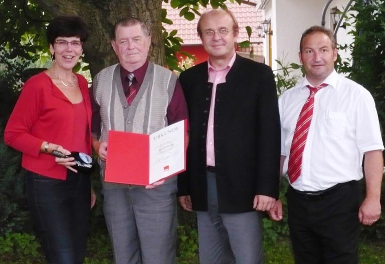50 Jahre Mitgliedschaft im SPD-Ortsverein Hochstadt am Main