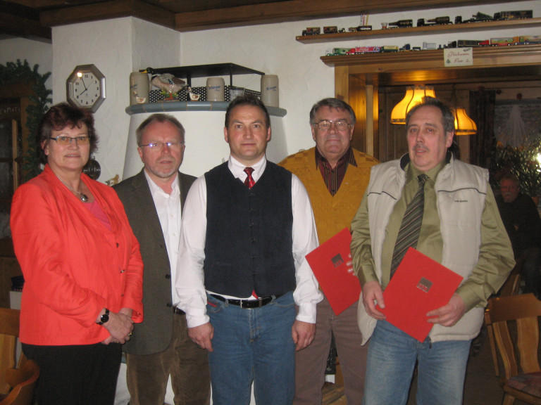 Ehrungen 30 Jahre Mitgliedschaft im SPD-Ortsverein Hochstadt am Main